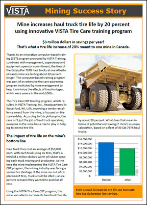 VISTA customer success stories