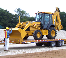 Transporting equipment training resources from VISTA Training