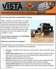 Sign up for the VISTA e-newsletter today
