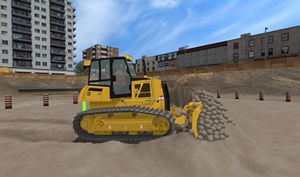 PC-based based heavy equipment simulator